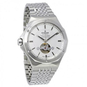 Edox Delfin Silver Dial Automatic Men's Watch