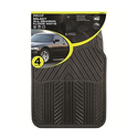 Pilot Automotive All Season 4 pc. Rubber Floor Mat Set