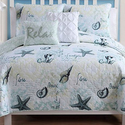 Shore Life Reversible Quilt Set (4- or 5-Piece)