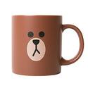 LINE Friends Brown Two Face Ceramic Mug