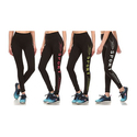 Women's Printed Sports Leggings (4-Pack)