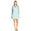 "Tommy Hilfiger Women's ""H"" Logo 3/4 Sleeve Sleepdress"