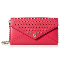 Rebecca Minkoff Wallet on a Chain - Berry