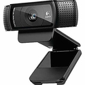 Logitech C920 HD 1080p Pro Computer Webcam with Dual Stereo Microphones