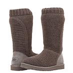 毛线筒靴·