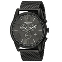 Akribos Black Dial Chronograph Men's Watch
