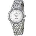 Omega De Ville Prestige Mother of Pearl Stainless Steel Ladies Watch