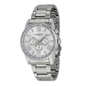 Akribos XXIV Silver-tone Alloy Men's Watch