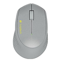 Logitech M320 Wireless Optical Mouse Silver (910-004352)
