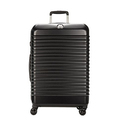 Delsey Luggage Bastille Lite 25 4 Wheel Spinner, Black