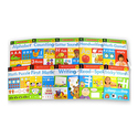Scholastic Children's Wipe-Clean Book Set with Marker
