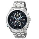 Casio Men's EFR-536D-1A2VCF Neon Illuminator Stainless Steel Watch
