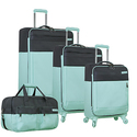 Nautica Harpswell 4 Piece Expandable Spinner Luggage Set
