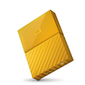 Amazon:WD 4TB USB 3.0 Yellow My Passport Portable External Hard Drive