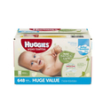 Amazon:Huggies Natural Care Baby Wipes, Refill, 648 ct