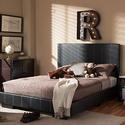 Atlas Full-Size Contemporary Platform Bed
