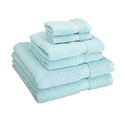 Superior 900GSM Long Staple Combed Cotton Towel Set (6-Piece)