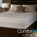 "ComforPedic Loft 5.5"" Gel Memory Foam and Fiber Mattress Topper"