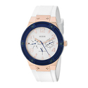 GUESS Women's U0564L1 Sporty Rose Gold-Tone Stainless Steel Watch