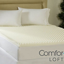 "ComforPedic Loft from Beautyrest 4"" Reversible Memory Foam Mattress Topper"