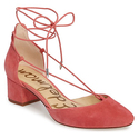 Nordstrom:30% OFF on Sam Edelman Lace Up Pumps