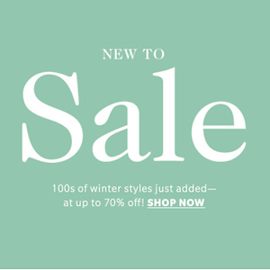 SHOPBOP: Up to 70% OFF for Sale items