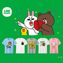 UNIQLO X Line Friends T-Shirts