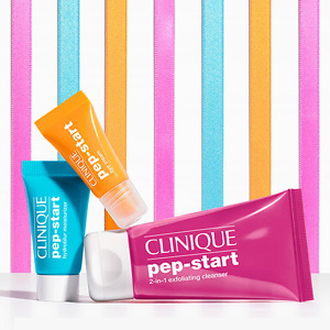 Clinique: Free Mini Pep Squad with $45+ Purchase