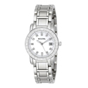 Bulova Women's Diamond-Accented Stainless Steel Watch