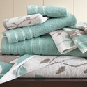 Amrapur Organic Vines Towel Set (6-Piece)