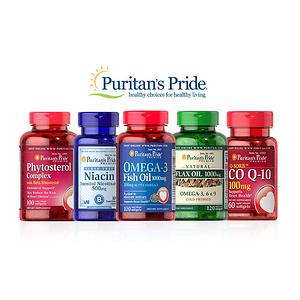 Up to 50% OFF Select Puritan's Pride Brand Top Sellers