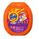 Tide 3合一速溶果冻洗衣球81个