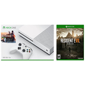 Xbox One S 500 GB Console Battlefield 1 Bundle + Resident Evil 7
