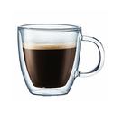 Bodum Bistro Double-Wall Insulated Glass Espresso Mugs Set of 2