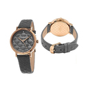 Stührling Original Women's Swarovski Crystal Quilted Watch