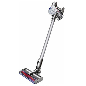 Dyson - Refurbished V6 Cordless Stick Vacuum - Gray/White