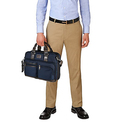Tumi Alpha Bravo Andersen Slim Commuter Brief, Navy