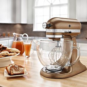 KitchenAid Artisan KSM150PS 5-qt. Stand Mixer + Food Grinder