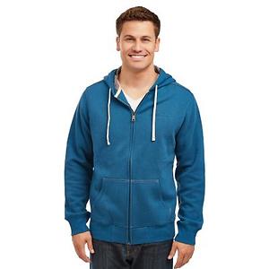 Eddie Bauer Men's Sueded Fleece Zip Front Hoodie