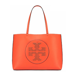 Tory Burch Perforated Logo Tote