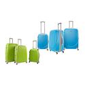 Travelers Club Barnet Expandable Hardside Spinner Luggage Set (3-Piece)