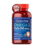 5瓶Omega-3 鱼油