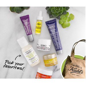 Kiehl's: Free Deluxe Gifts With Purchase