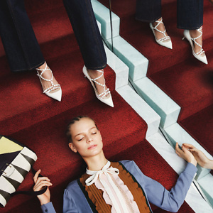 Luisaviaroma: Up to 15% OFF Valentino bags and shoes