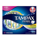 Tampax Pearl Plastic Tampons 50 Count