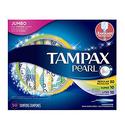 Tampax Pearl Plastic Tampons 50 Count