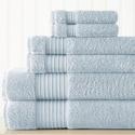 Amrapur 100% Turkish Luxury Cotton Towel Set (6-Piece)