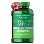 Ultra Man 50 Plus