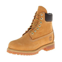 Timberland 10061 Men's 6 inch Premium Waterproof Wheat Nubuck Boot