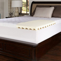 "Beautyrest ComforPedic Loft Sculpted 5.5"" Memory Foam Topper from $89.99"